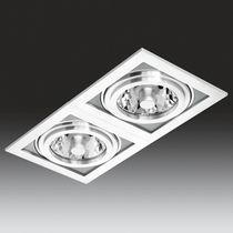 recessed ceiling halogen spotlight (cardan, low voltage) PUZZLE ONOK LUZ TECNICA