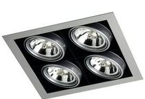 recessed ceiling halogen spotlight (cardan, low voltage) TECNO  Cristalrecord