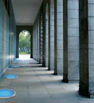 recessed exterior in-ground light for public spaces DISCO Nord Light