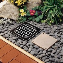 recessed exterior in-ground light for public spaces WELL 6360/6350 KIM Lighting