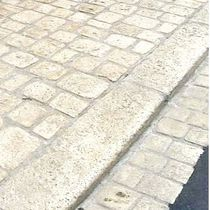 reconstituted stone edging curb GBTFR Girpav
