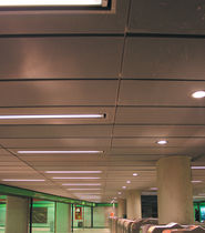 rectangular metal ceiling panel  Metalltech