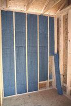 recycled fabric insulation panel (cotton)  All Noise Control