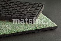 recycled rubber tile for fitness areas ACTIVATION SPORT Mats