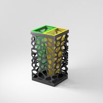 recycling bin for waste separation for public spaces PEBBLES MINI LAB23