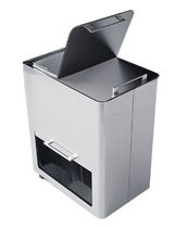 recycling dust-bin with integreted ashtray DF3 Peter Pepper Products