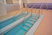 reeducation pool for physiotherapy BRESCIA, ITALY  REHABILITATION CENTER �DON RONCHI Myrtha Pools