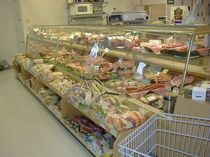 refrigerated and dry counter display case  Vega