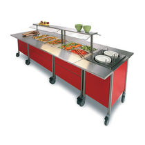 refrigerated buffet with casters CORONA Hackman