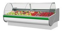 refrigerated butcher counter display case TOBI 1.1W IGLOO