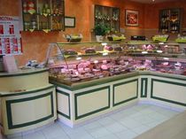 refrigerated caterer counter display case  SN Bocage