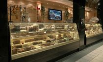 refrigerated chocolate counter display case  Vega