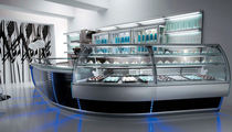 refrigerated pastry exhibition display case TOTAL SPHERICITY 5 CustomCool / SIFA