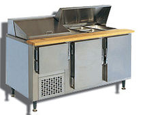refrigerated prep table BAIN MARIE SERIES CustomCool / SIFA