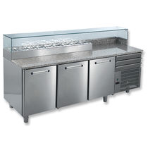 refrigerated prep table TEQUILA ECONOM 2120 3 PORTE  Studio 54