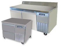 refrigerated prep table CRB42 /CRB67 /CRB92 /CRB11 Apex Bakery Equipment