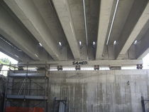 reinforced concrete beam (for bridge) GRANATORE - PIGNARA - IROPO - PALMI - SEMINARA - BAGNARA Samer S.p.A.