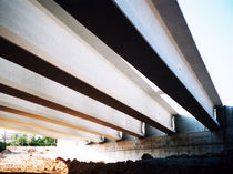 reinforced concrete beam (for bridge) T Pujol