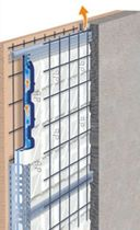 reinforced concrete facade panel (insulated) ECO VENTILATO Styl-Comp