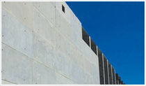 reinforced concrete facade panel (insulated)  Hanson structural porecast