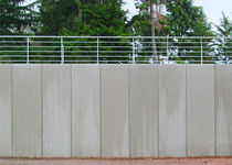 reinforced concrete retaining wall (precast units) SÉRIES 125 ET 125+ Chapsol