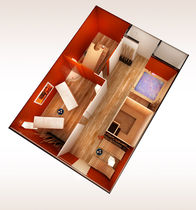 relax cabin BEAUTY SUITE Esagono