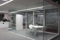 removable acoustic glass partition  Gemino