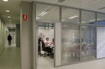 removable acoustic glass partition M92 Movinord