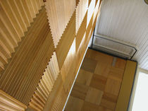 removable acoustic wooden partition FINISHES Modernfold Inc.