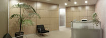 removable acoustic wooden partition CLASSIC ENVATECH
