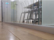 removable frameless glass partition EPURE Cloisons Partena