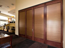 removable wooden partition GT Hufcor