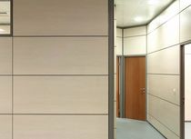 removable wooden partition with hollow joints UR-902 URMOBILE