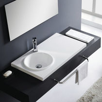 resin built-in washbasin SATÉLITE The Bath Collection