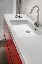 resin vanity top NOW: LAVABO MARTA ARTE BAGNO VENETA