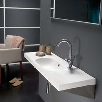 resin wall-hung washbasin ICE The Bath Collection