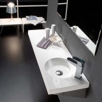 resin wall-hung washbasin OASIS The Bath Collection