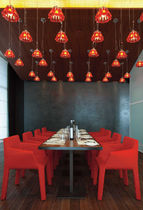 restaurant chair FACETT by Ronan &amp; Erwan Bouroullec Ligne Roset Contracts