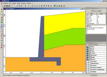 retaining walls calculation software WALLCAD CONCRETE