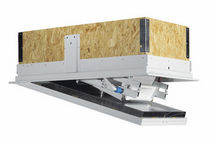 retractable attic ladder for roof hatch (fire resistant) GM-4 ISOTEC WIPPRO