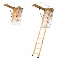 retractable folding attic ladder LWK KOMFORT FAKRO