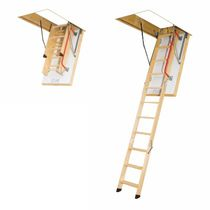 retractable folding attic ladder LTK FAKRO