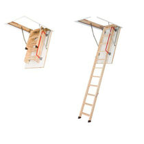 retractable folding attic ladder LWZ FAKRO