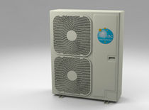 reversible air/water air source heat pump OPHELY-S: DUAL OUTDOOR UNIT Airpac International