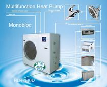 reversible air/water air source heat pump PL-HLR-140D Mini chiller Palm Air Conditioning & Equipment Co.,Ltd