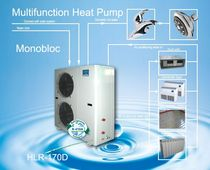 reversible air/water air source heat pump PL-HLR-170 MINI CHILLER Palm Air Conditioning & Equipment Co.,Ltd