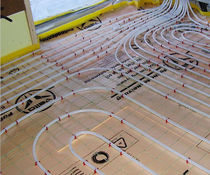 reversible underfloor heating (with acoustical insulation)  Hofer Group GmbH