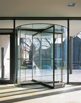 revolving automatic door for commercial buildings KTV-ATRIUM DORMA International