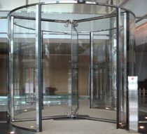 revolving automatic door for commercial buildings BIRA KRYSTAL E71 ERREKA AUTOMATISMOS
