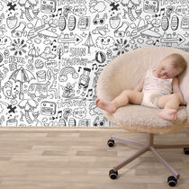 rice paper wallpaper for kids (unisex) BABY 06 KALIT